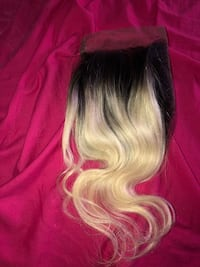 8 inch free part ombré blonde closure  Memphis, 38109