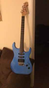 blue and black electric guitar College Park, 20740