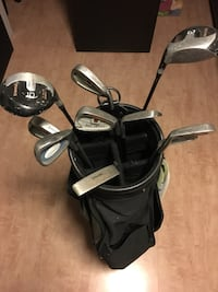 Golf clubs + bag Lorton, 22079