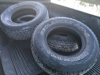 four black auto tire set San Angelo, 76904