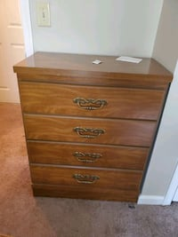 brown wooden 4-drawer chest Washington, 20032