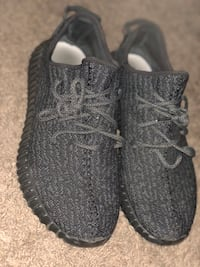 pair of Pirate Black Adidas Yeezy Boost 350 Dayton, 47941
