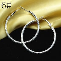 Sterling Silver Twist Earrings Richmond Hill, L4B