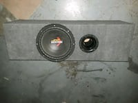 black and gray Kicker subwoofer Cape Coral, 33991