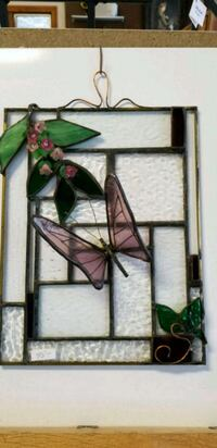 Stained glass butterfly Tiverton, 02878