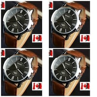 Men fashion strap watch Montreal, QC H2M 1P6, Canada