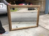 Wall Mirror - Gold design Daly City, 94015