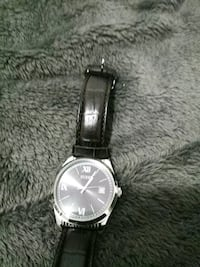 Guess Steel with Leather Strap water resistant Lansing, 48917