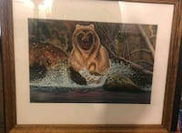 brown wooden framed pastel of brown wooden house Ramsey, 55303