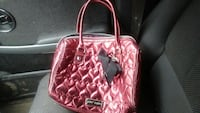 Betsey Johnson hearts purse