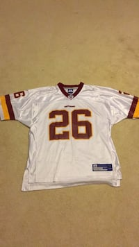 white and red NFL jersey Lorton, 22079