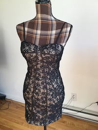 Brand new black lace sexy dress in small Montréal, H1M 1S1