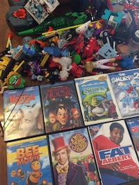Children's Toys  AND Movies-$25