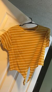 orange and white striped crew-neck t-shirt Cincinnati, 45237
