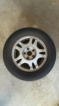 4 YOKOHAMA TIRES WITH ALLOY RIMS, MINT CONDITION!! Vaughan