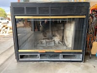 Gas/wood fireplace with piping Albuquerque, 87120