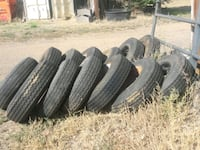 four black car tires set Erie, 80516