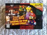 SNES Nintendo Mario RPG for Sale!