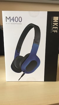 Kef m400 headphones.