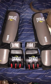 Everlast MMA gloves and shin guards Leesburg, 20176