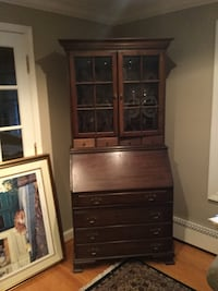 brown wooden cabinet with shelf Arlington, 22207