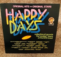LP Happy Days - Jukebox - Original Hits - Original Stars   LP In good condition.  Pick-up in Newmarket  Newmarket