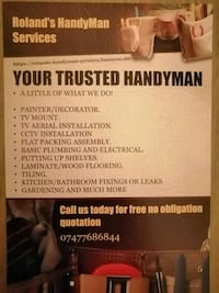 Handyman Greater London, RM12 4PX