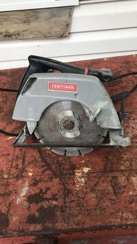 grey and black Craftsman circular saw Mechanicsville, 20659