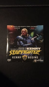 DVD Film: Kenny Starfighter Malmö, 214 28