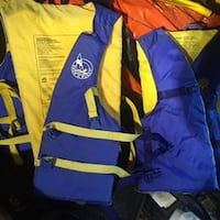 Pair of Life Jackets null