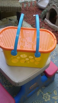 Sand toys carrying basket Barrie, L4N