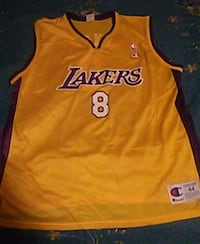 orange and blue Los Angeles Lakers Kobe Bryant jersey Capitola, 95010