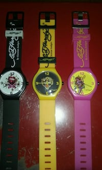 3, Ed Hardy watches