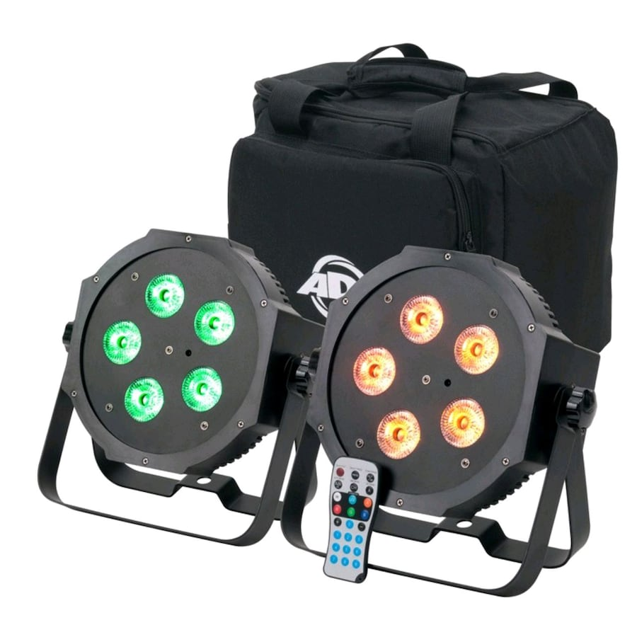 American DJ Mega 64 Hex Uplighting RGBWA+UV 0