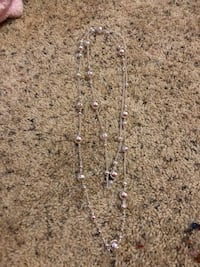 Necklace can be worn doubled or long  Clover, 29710