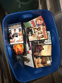 Box full of DVDs some unopened! Whole box is yours. If you want to go threw box that's okay. $2 bucks a piece.  Bakersfield, 93304