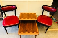 Three brown wooden side tables Stafford, 22554