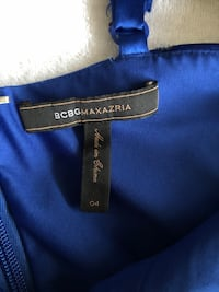 BCBG Dress in Royal Blue Toronto, M3B