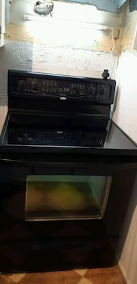 Whirlpool Glass Top Electric Range