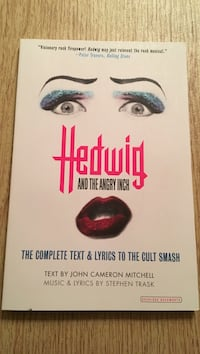 Hedwig and the angry inch book Mahwah, 07430