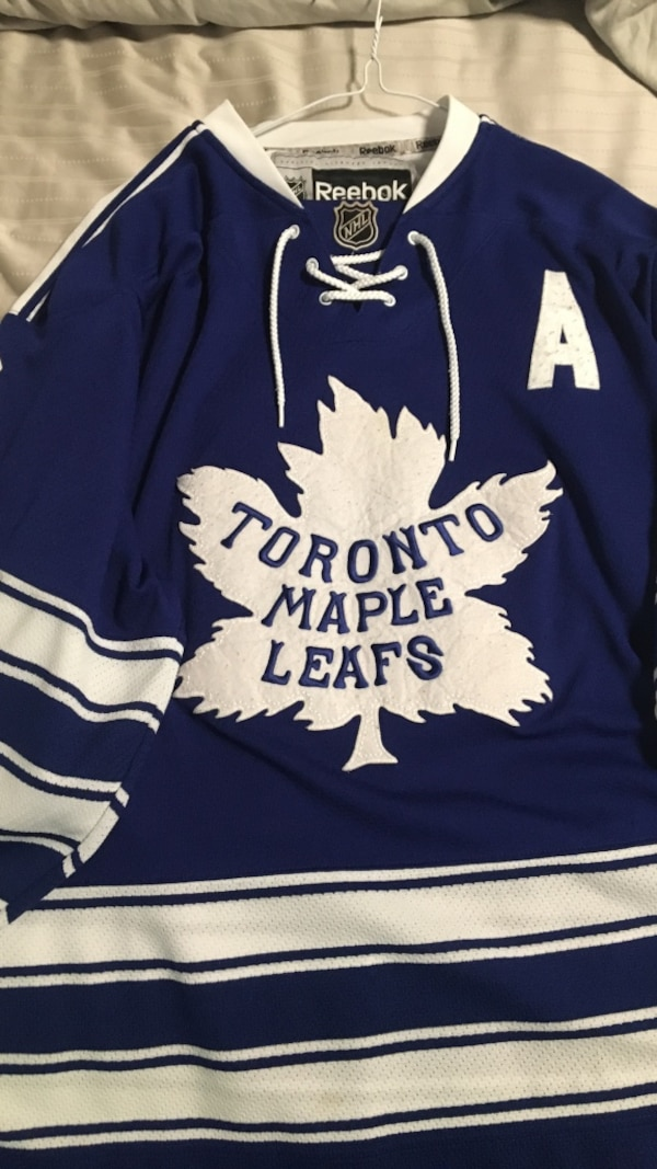 627851fe8ae Used Leafs winter classic jersey for sale in Bolton - letgo