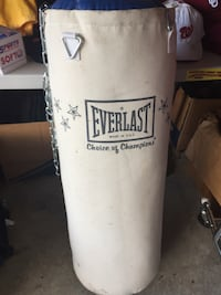 white and black Everlast heavy bag Charles Town, 25414