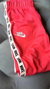 Red and white and black nike pants 2-6 sports North Augusta, 29841