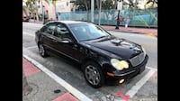 Mercedes c240 Black. 2002  Miami Beach