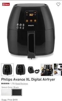 Philips Airfryer and Grill Pan Forest Hills, 15221