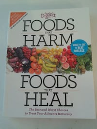 Readers Digest *Foods that Harm. Foods that Heal* Oshawa, L1J 4Z3