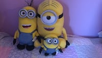 One build a bear minion and two teddy bear minions Mississauga, L5L