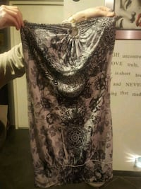 women's black and gray floral dress Calgary, T2A