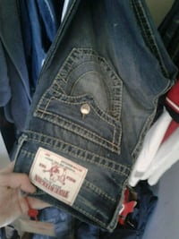 blue denim True Religion jeans Gatineau, J9H 6W2