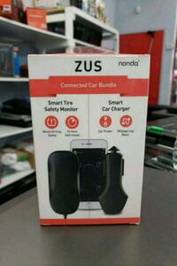 NondaZUS Car Bundle smart tire monitor and charger Toronto, M9V 1A9